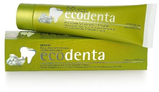 ECODENT ECODENTA Pasta do zębów Wzmacniająca szkliwo o zapachu melona, 100 ml