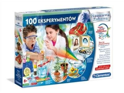 Clementoni 100 eksperymentów 50522