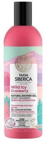 Natura Siberica Taiga Siberica Wild ice cranberry Żel pod prysznic 270ml 53408-uniw