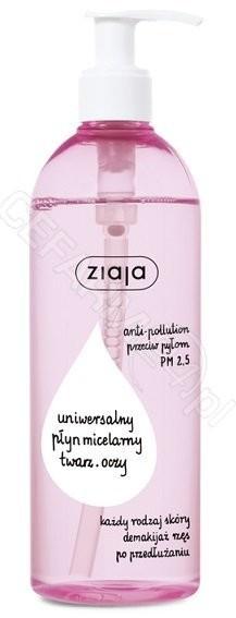 Ziaja uniwersalny płyn micelarny anti pollution 390 ml