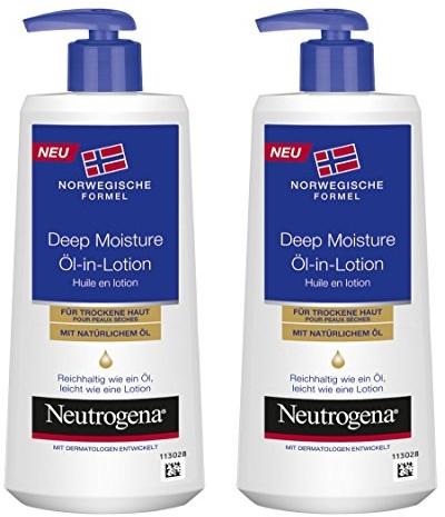 Neutrogena Norwegische formuła Deep Moisture oleju w Lotion/2X 250ML 02454