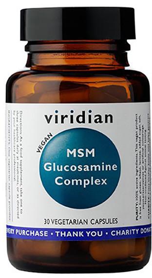 Viridian Glukozamina z MSM (30 kaps) 5060003593904