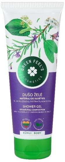 Green Feel'S Green FeelS Green FeelS Żel pod prysznic z kompozycją ekstraktów ziołowych 250ml