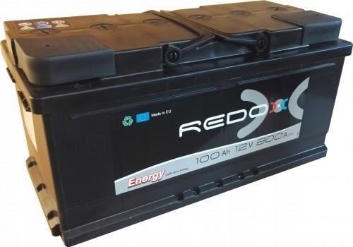 REDOX 12V 100Ah 800A Prawy+