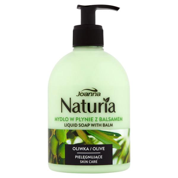 Joanna Naturia Liquid Soap With Balm mydło w płynie z balsamem Oliwka 500ml