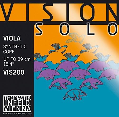 Thomastik Pojedyncza struna do Viola 4/4 Vision Solo rdzeń ze stali A-struny, owinięty stal chromowana, średnia 637862