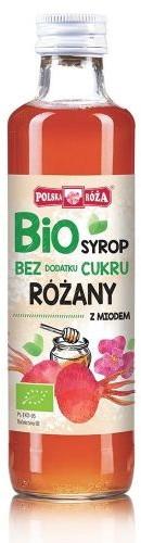 Polska Róża Syrop malinowy B/C BIO 250ml