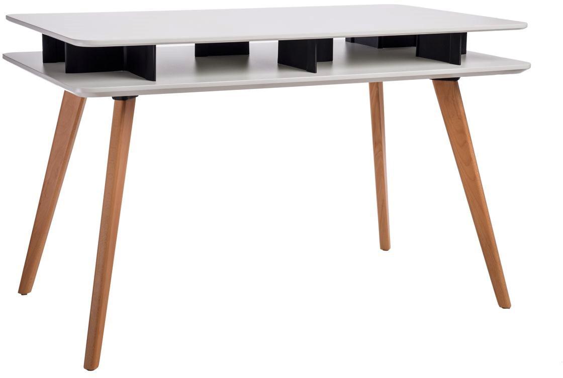 D2.Design Biurko Scandi 120x70 białe 5902385724258