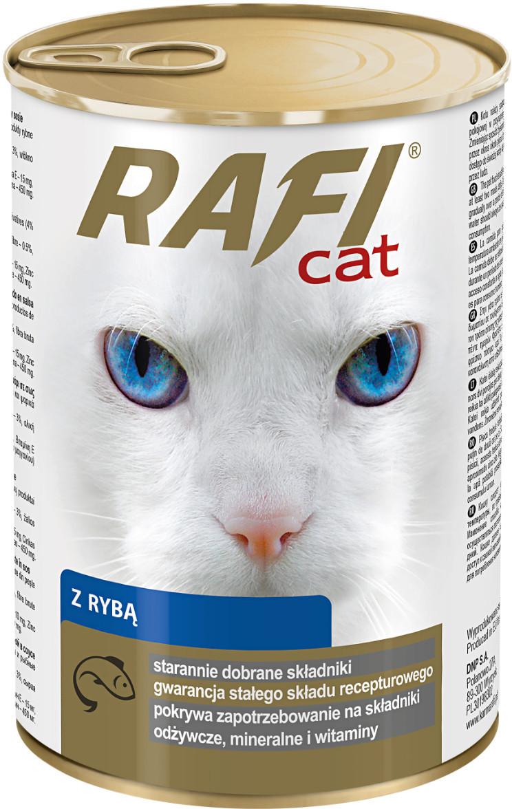 Rafi Cat z Rybą 415g