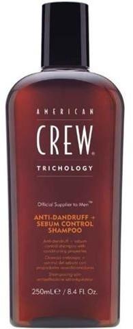 American Crew Anti-Dandruff+Sebum Control Shampoo szampon przeciwłupieżowy 250ml 50799-uniw