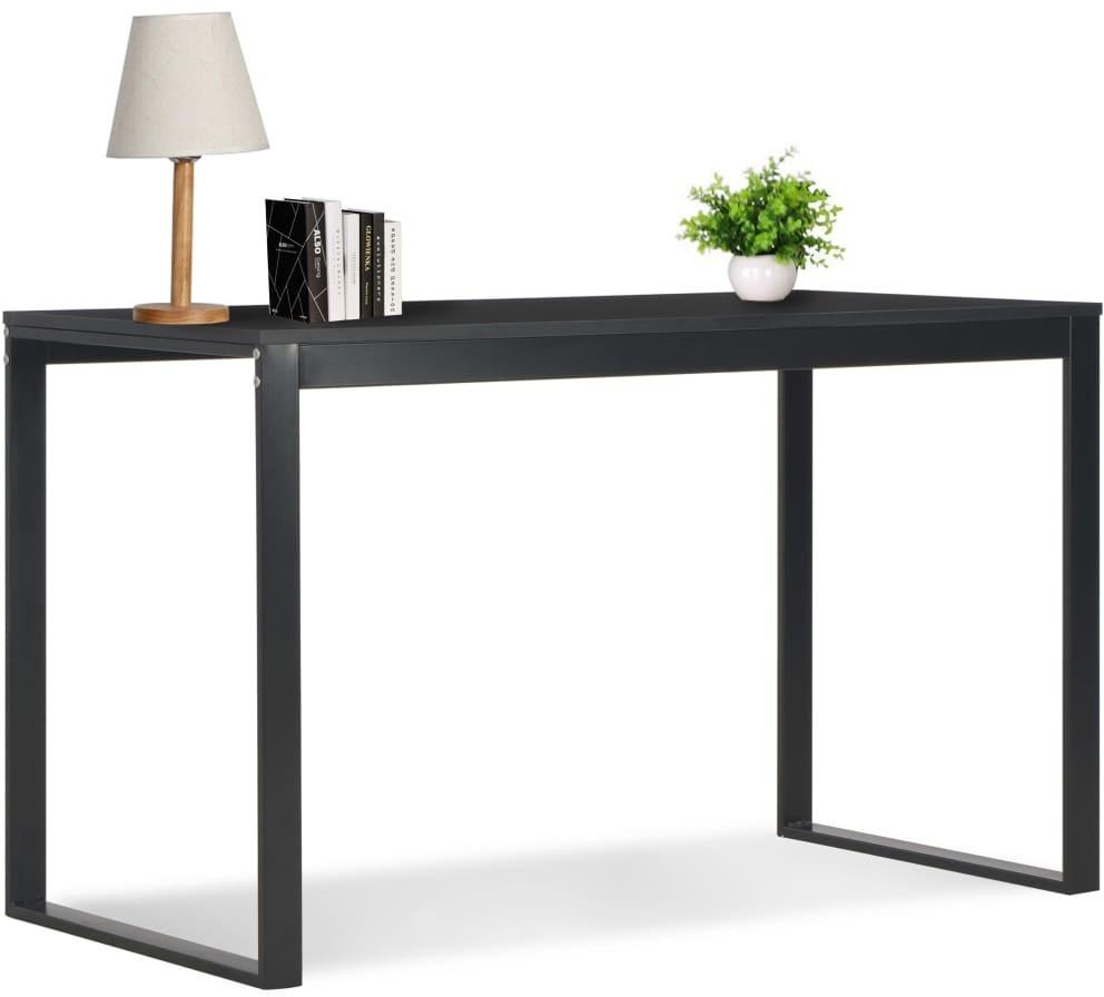 vidaXL Biurko komputerowe, czarne, 120 x 60 x 73 cm vidaXL