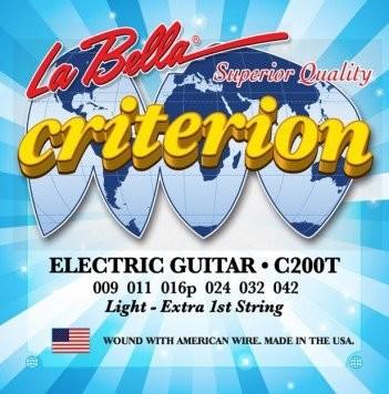 LaBella C200T struny do gitary elektrycznej