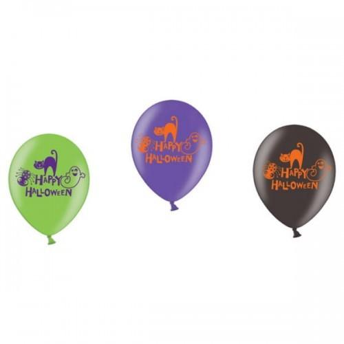 Amscan Balony Happy Halloween z kotem i duchem BGNP/9752-A