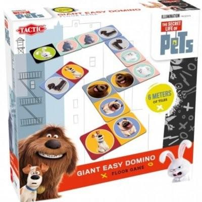 Tactic Sekretne Życie Zwierzaków Domowych Domino Maxi 54038