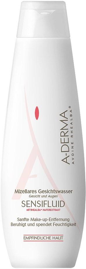 Pierre Fabre DERMO KOSMETIK Gm A-Derma Sensifluid oczyszczający płyn micelarny dla cery wrażliw 250 ml