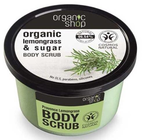 Organic Shop Peeling do ciała Trawa cytrynowa 250ml 35615-uniw