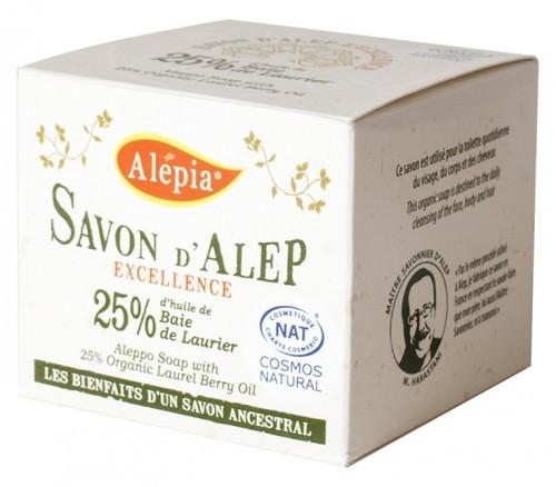 Alepia (mydła) MYDŁO ALEP EXCELLENCE 25% BIO 190 g - 3700479109255