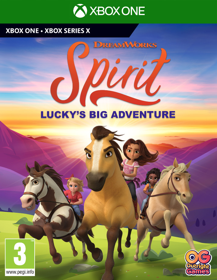 DreamWorks Spirit Luckys Big Adventure ((GRA XBOX ONE / XBOX SERIES X))