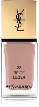 Yves Saint Laurent La Laque Couture lakier do paznokci odcień 22 Beige Léger 10 ml