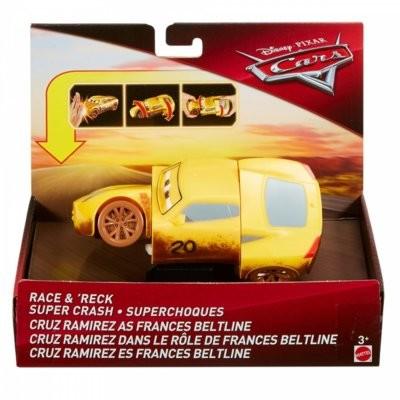 Mattel Auto z kraksą Cars Muddy Cruz Ramirez DYW10/FMH53