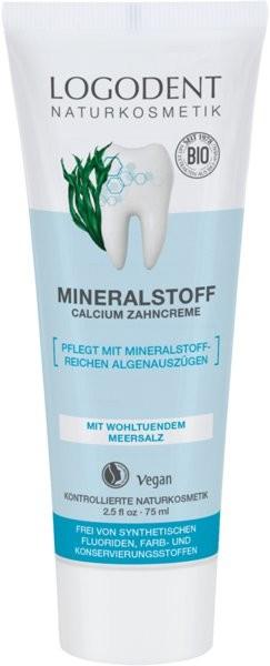 Logona Mineralna pasta do zębów z wapniem i solą morską
