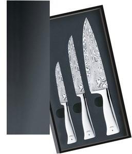 WMF Zestaw 3 noży Grand Gourmet Damasteel 18.9009.9998