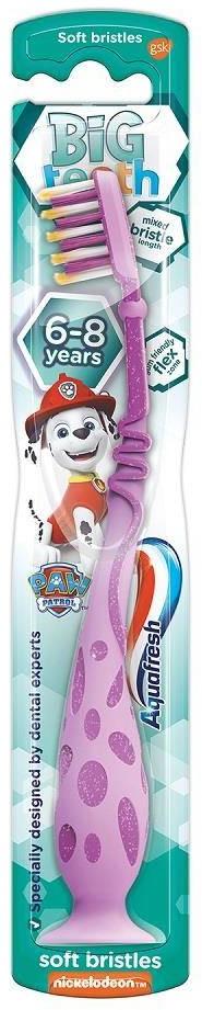 GlaxoSmithKline Big Teeth szczoteczka do zębów dla dzieci 6-8 lat Soft