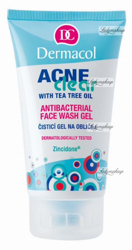 Dermacol Acne Clear - ANTIBACTERIAL FACE WASH GEL - Antybakteryjny żel do mycia twarzy do cery trądzikowej DERZMTW