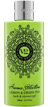 Vivian Gray Aroma Selection Lemon & Green Tea żel do kąpieli i pod prysznic 400 ml