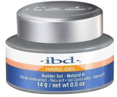 IBD LED/UV Builder żel - Natural II, Żel budujący naturalny 14g