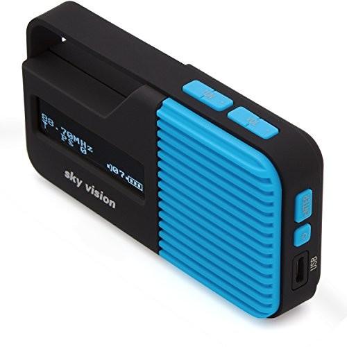 Sky Vision DAB + radio niebieski DAB 11 B