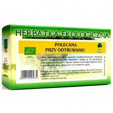 Dary Natury Mirosław Angielczyk, Koryciny 73,17-31 Herbatka polecana przy ODTRUWANIU BIO (20 x 2g) 000-C62F-67310
