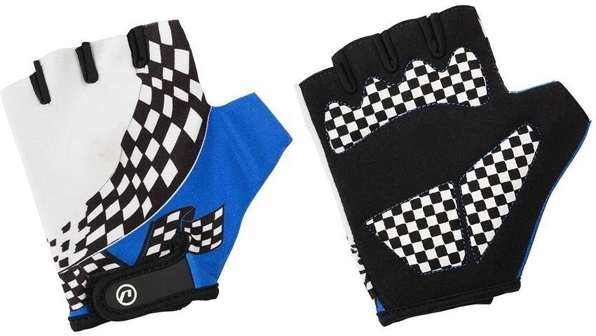Accent Rękawiczki dziecięce Tommy biało-niebieskie L/XL