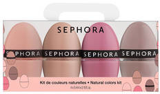 SEPHORA COLLECTION Natural Color Hit Kit - Zestaw 4 lakierów do paznokci