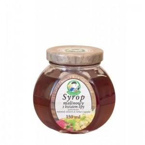 Fungopol Syrop malinowy z kwiatem lipy 150 ml Fungopol D268-45328