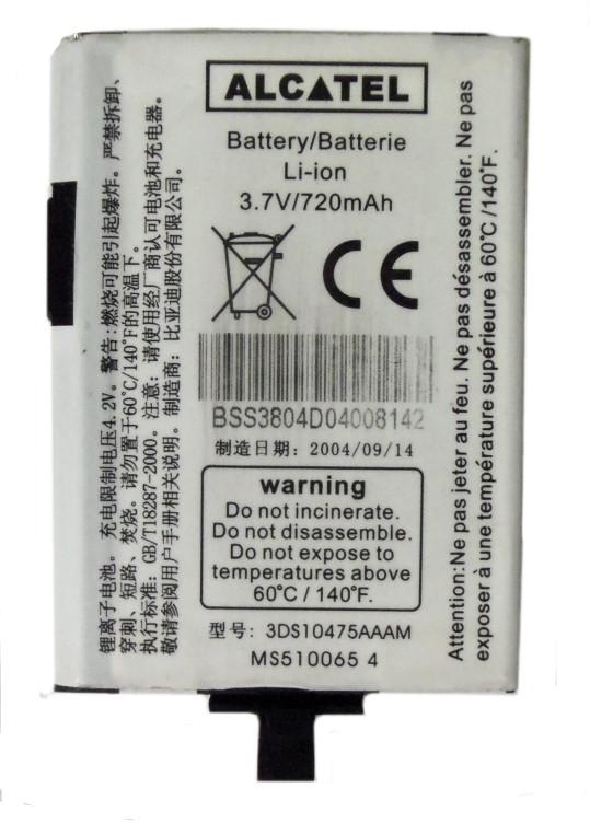 Alcatel Nowa Oryg Bateria One Ot155 Ot156 Ot355 Fv