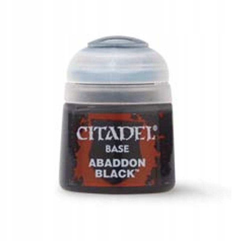 Citadel Farbka Abaddon Black (Base)