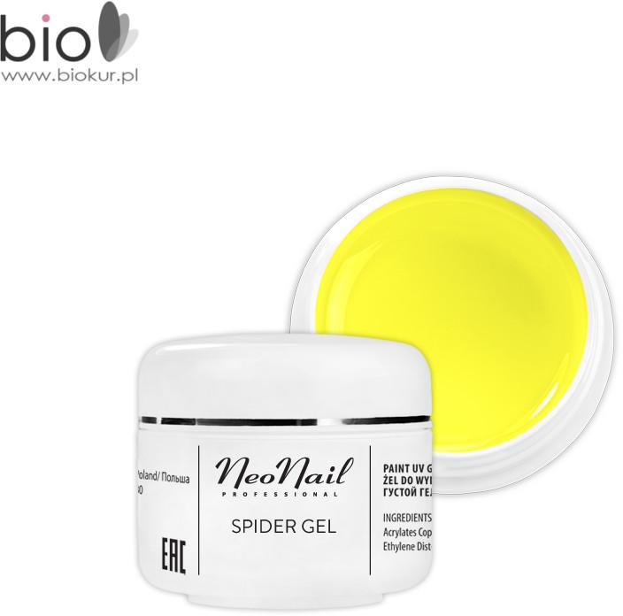 Neonail Spider Gel Neon Yellow 5 ml NOWOŚĆ! 6991