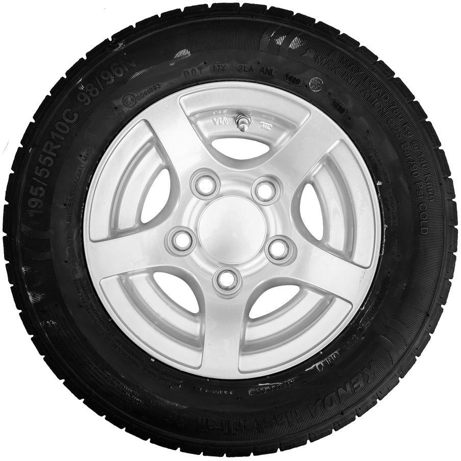 Starco Kenda Koło aluminiowe srebrne 195/55 R10C 5x112 98/96N Kenda 696423