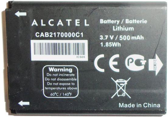 Alcatel Bateria OT-222 OT-222A OT-223 OT-223A