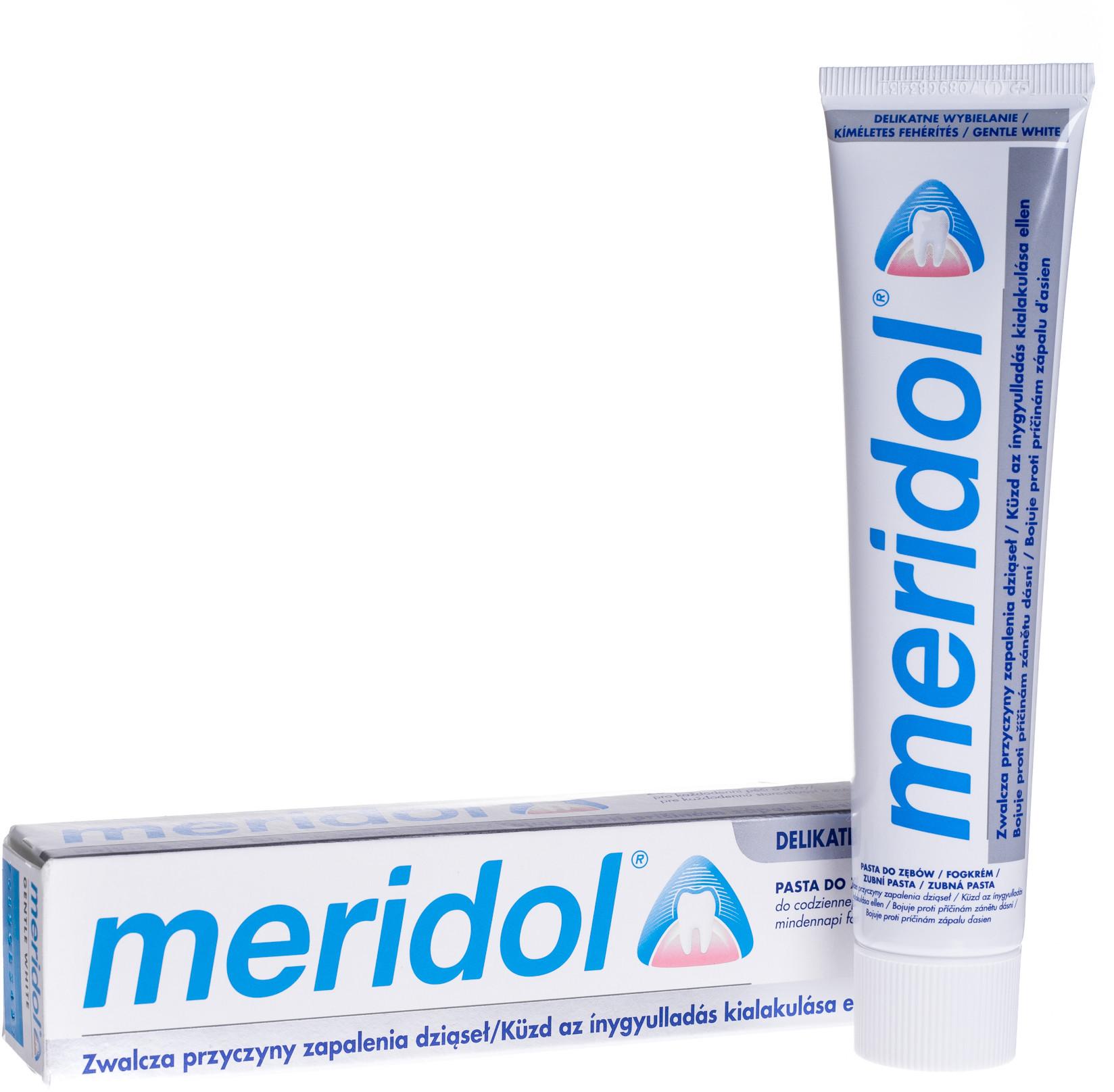 Meridol MERIDOL Pasta do Zębów Gentle White 75ml