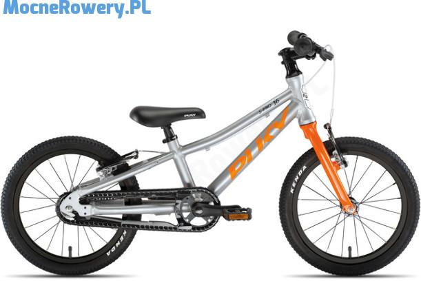 Puky S-Pro 16-1 Alu silver/orange 2020 silver / orange 16 cali