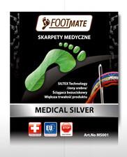 Footmate Footmate Medical Silver AG+ skarpety stopki zdrowotne z jonami srebra HM3577