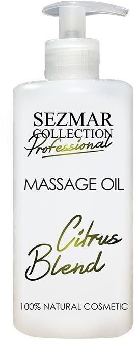 Hristina Hristina Naturalny olejek do masażu mieszanka cytrynowa 500 ml