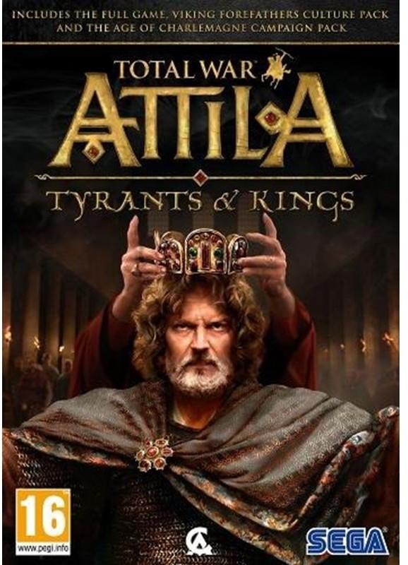 Total War: Attila - Królowie i Tyrani PC
