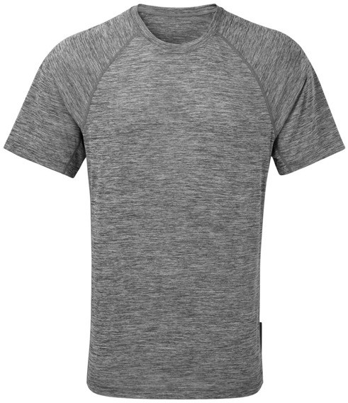 RONHILL RONHILL koszulka biegowa męska MOMENTUM S/S TEE szara