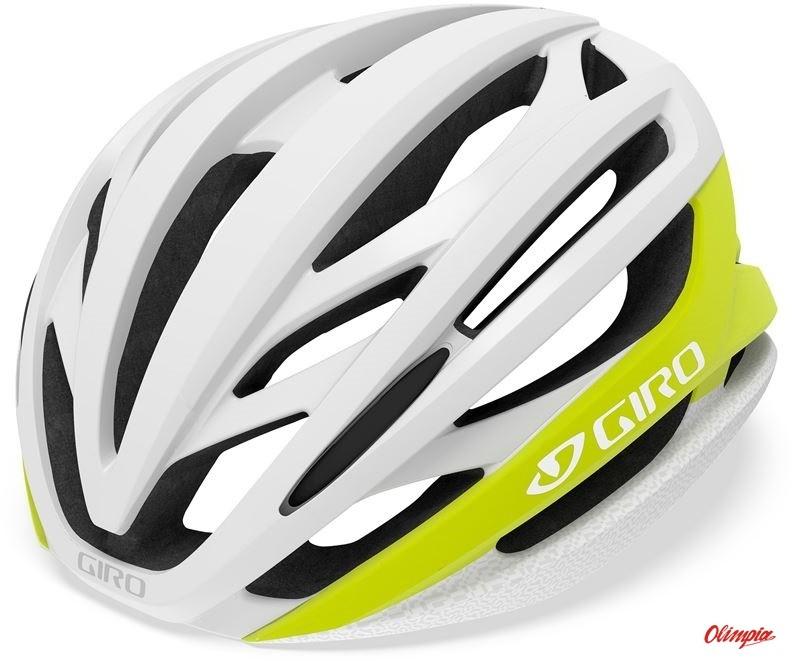 Giro szosowy SYNTAX matte citron white GR-7099702