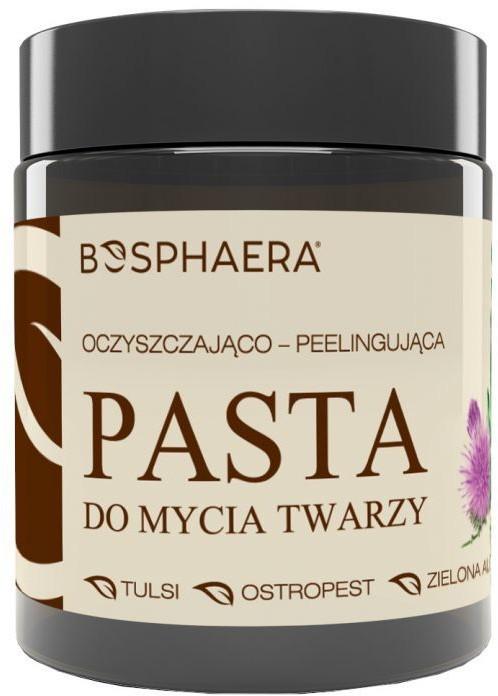 BOSPHAERA A. WÓJCIK S.J. BOSPHAERA A WÓJCIK S.J BOSPHAERA Oczyszczająco-peelingująca Pasta do mycia twarzy 100 g