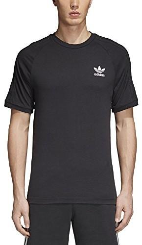 Adidas męski 3-Stripes T-Shirt, czarny, xl CW1202