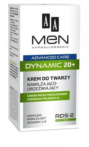 Oceanic AA_Men Advanced Care Dynamic 20+ krem do twarzy nawilżająco-orzeźwiający 50ml